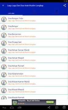 Lagu Dan Doa Anak Muslim Lengkap apk screenshot