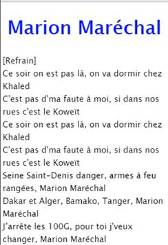 Lyrics Sofiane - Mon ptit loup apk screenshot