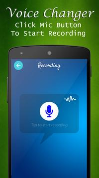 Voice changer with effects apk screenshot