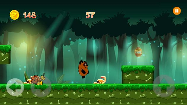 Russian winie Jungle Adventure The Pooh apk screenshot