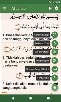 Al Quran Bahasa Indonesia screenshot 13