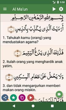 Al Quran Bahasa Indonesia screenshot 17