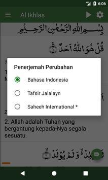 Al Quran Bahasa Indonesia screenshot 20