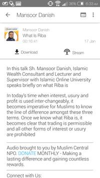 Mansoor Danish - Lectures screenshot 2