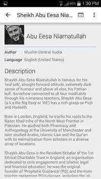 Abu Eesa Niamatullah - Lecture screenshot 4