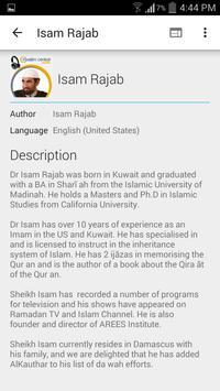 Isam Rajab - Lectures apk screenshot