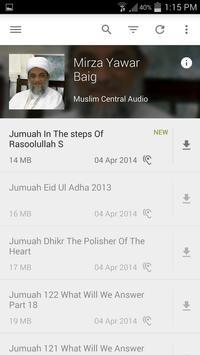 Mirza Yawar Baig - Lectures apk screenshot