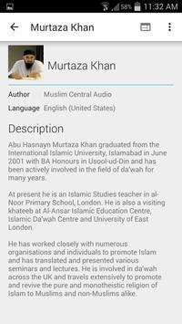 Murtaza Khan - Lectures apk screenshot