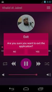 Khalid Al Jalil - Offline & Full Quran screenshot 7