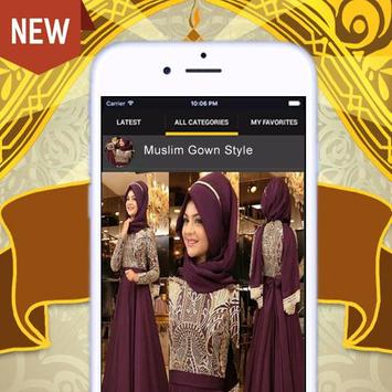 Musilm Gowns Style screenshot 1