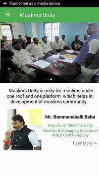 Muslims Unity screenshot 2