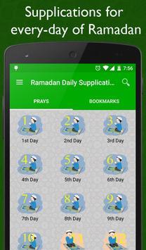 Ramadan Daily Supplications poster
