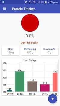 Protein Tracker apk screenshot