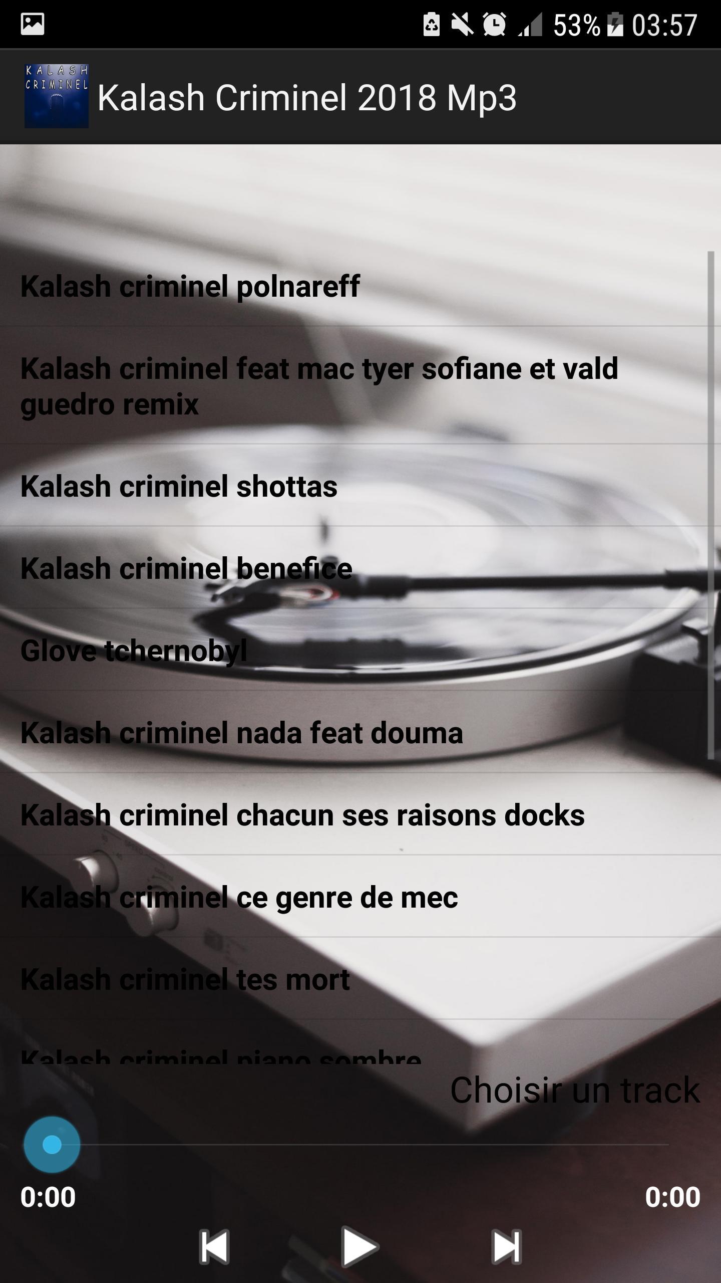 TÉLÉCHARGER KALASH CRIMINEL BÉNÉFICE