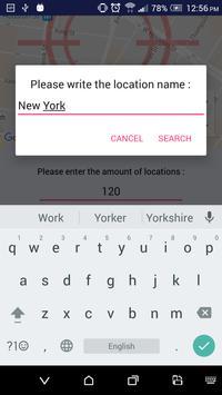 Fake GPS Popup apk screenshot