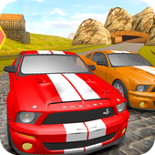 Mustang Driving Car Race иконка