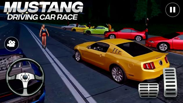 Mustang Driving Car Race скриншот 1