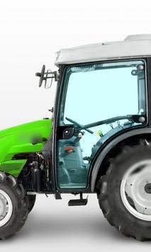 Wallpapers Deutz Fahr Tractor poster