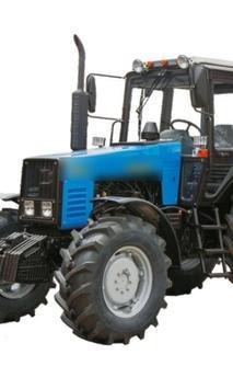 Wallpapers MTZ Tractor poster