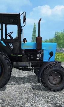 Wallpapers MTZ Tractor apk screenshot