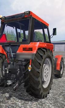 Wallpape Ursus Factory Tractor poster