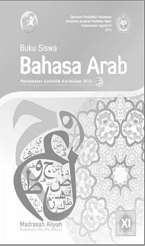 Buku Bahasa Arab Kelas 11 Kurikulum 2013 poster