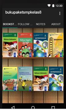 Buku Paket SMP Kelas 8 Kurikulum 2013 apk screenshot