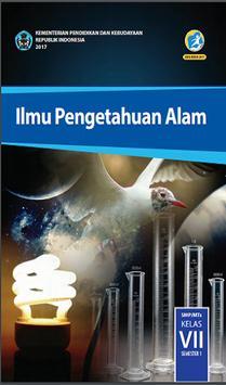 Buku Pelajaran SMP Kelas 7 Kurikulum 2013 poster