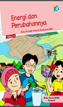 Buku Kelas 3 Tema 7 Kurikulum 2013 poster