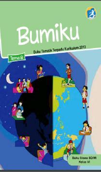 Buku Kelas 6 Tema 8 Kurikulum 2013 poster