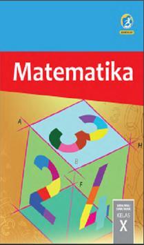 Buku Matematika Kelas 10 Kurikulum 2013 poster
