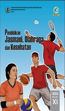 Buku Penjas Kelas 11 Kurikulum 2013 poster