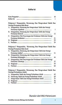 Buku Penjas Kelas 12 Kurikulum 2013 apk screenshot