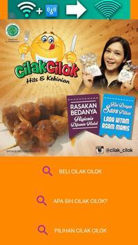 Cilak Cilok Indonesia Food app poster