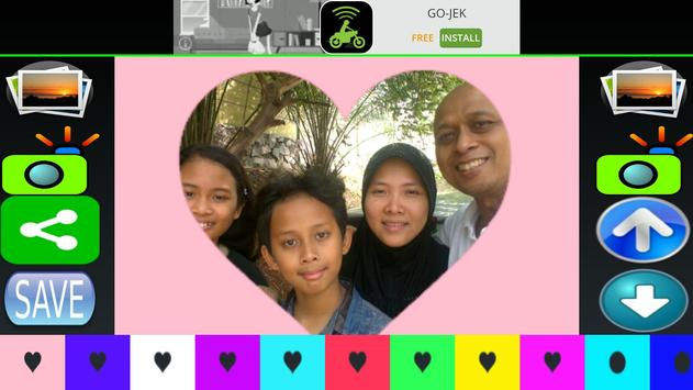 Love heart photo editor Luvpic screenshot 1