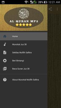 Murottal Muflih Safitra MP3 Offline Quran Complete poster