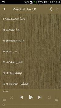Murottal Muflih Safitra MP3 Offline Quran Complete apk screenshot