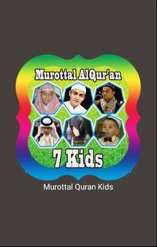 Murottal AlQuran By Kids poster
