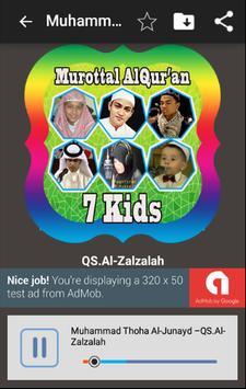 Murottal AlQuran By Kids screenshot 2