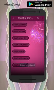 Murottal Taqy Malik MP3 poster