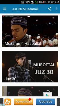 Juz 30 : Muzammil Hasballah apk screenshot