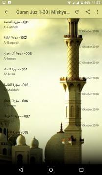 Mishary Rashid Alafasy | Murottal Quran Full screenshot 3
