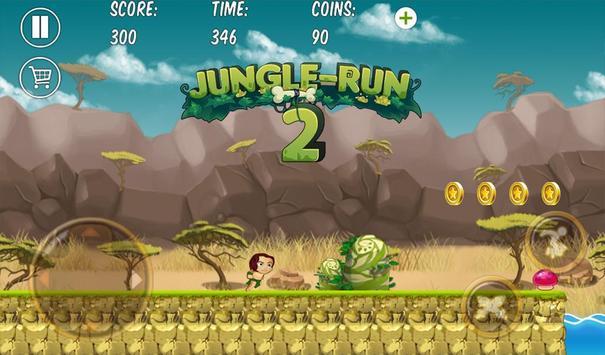 Jungle Run Castle Adventure 2 screenshot 1