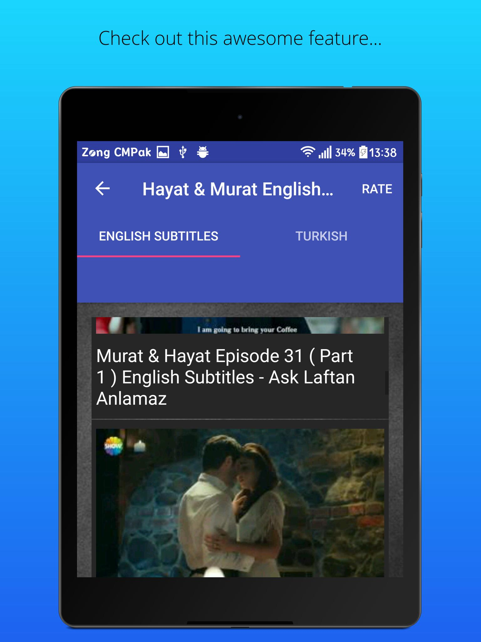 Hayat and Murat Drama English for Android - APK Download