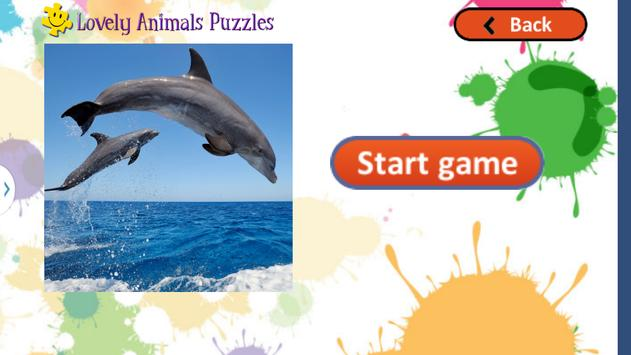 Cute Animals Puzzles for Kids screenshot 5