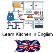 Kitchen Vocabulary in English icon