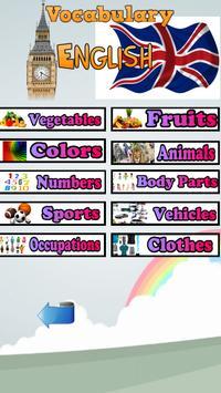 Kitchen Vocabulary in English apk screenshot