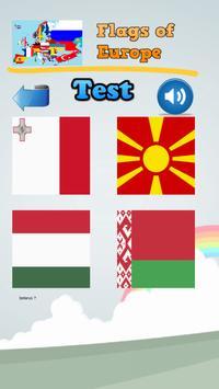 Learn Flags of Europe apk screenshot