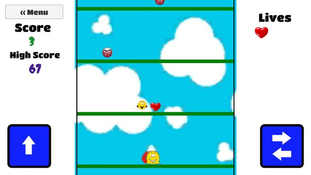 Smiley Jump apk screenshot