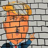 Donald Trump EL MURO icon